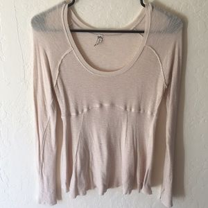 Free people stretchy sheer top